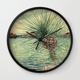 A Hidden View of O-nen Shore Wall Clock