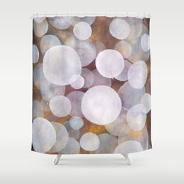'No clear view 18' Shower Curtain