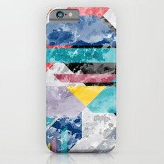 Block Texture Slim Case iPhone 6s