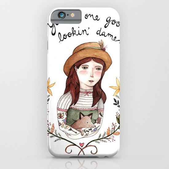 Good Lookin' Dame iPhone & iPod Case