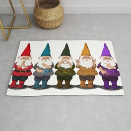 Hangin with my Gnomies - The line up Rug