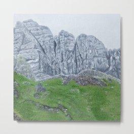 Scotland, Isle of Skye, Storr Metal Print