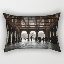 LOWER PASSAGE Rectangular Pillow