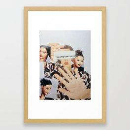 plastic fantastic (fashion magazine) Framed Art Print