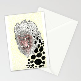 Monstrous and Free Stationery Cards