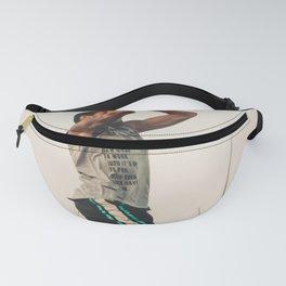 Basket Fanny Pack