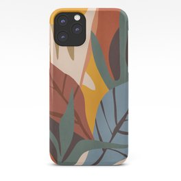 Abstract Art Jungle iPhone Case