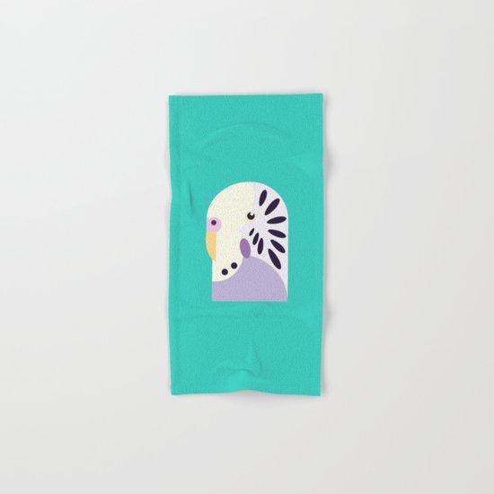 Budgerigar 3 Hand & Bath Towel