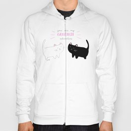 white cat - black cat moonrise kingdom quote Hoody