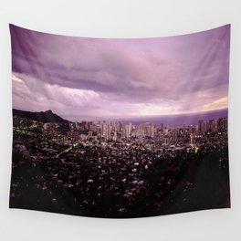Waikiki Sunset Wall Tapestry