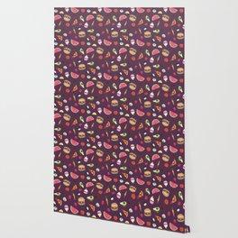 Yummy! (purple) Wallpaper