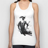 coco Tank Tops featuring Coco by Sasha Spring Illustration