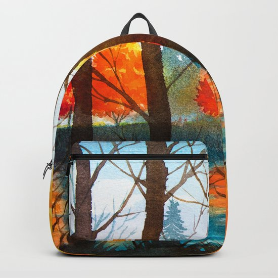 Autumn scenery #5 Backpack