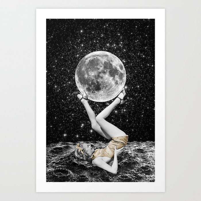 Out of Place Art Print