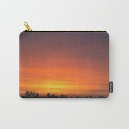 SUNRISE - SUNSET - ORANGE SKY - PHOTOGRAPHY Carry-All Pouch