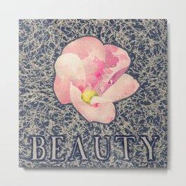 Beauty (Pink) Metal Print