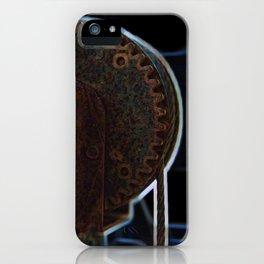 Circular Corrosion iPhone Case