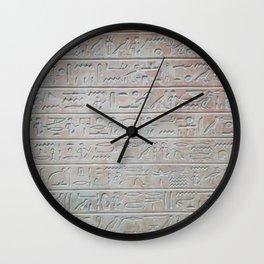 Gone Egyptian Wall Clock
