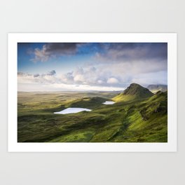 The Beauty of the Quiraing Art Print
