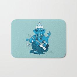 Ganesha rocks ! (v3) Bath Mat