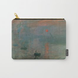Claude Monet - Impression, Sunrise Carry-All Pouch