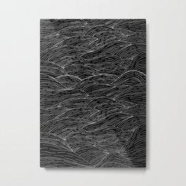 The Dark Sea Metal Print