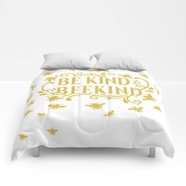 Be Kind to Beekind - Save the Bees Comforters
