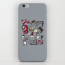 Dress up Zim iPhone Skin