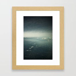 Skyscape Framed Art Print