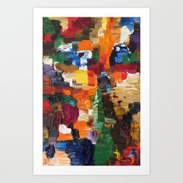 Life In Color Art Print