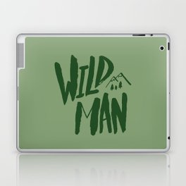 Wild Man x Green Laptop & iPad Skin