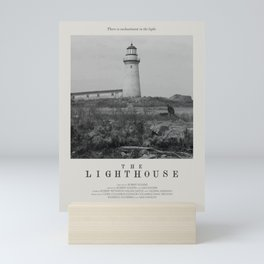 The Lighthouse (2019) Minimalist Poster Mini Art Print