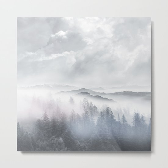 Magic in the Clouds V Metal Print