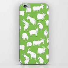 Green Goats iPhone & iPod Skin