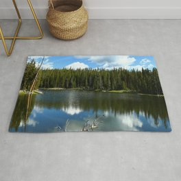 Serenity At West Gull Drive - Yellowstone National Park Rug