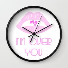 Shout Out To My Ex Wall Clock