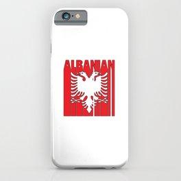 Albanian   Kosovo Albania Albanian Gift Ideas iPhone Case