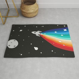 Magic Rocket Rug