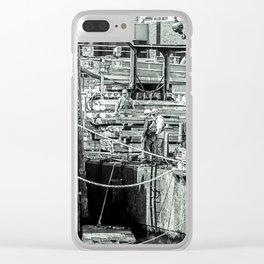 Hughes Clear iPhone Case