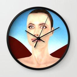 Angel Ina Wall Clock
