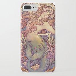Andersen Little Mermaid Nouveau iPhone Case