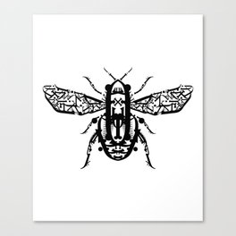 Beetle Type Canvas Print