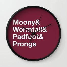 Marauders Wall Clock