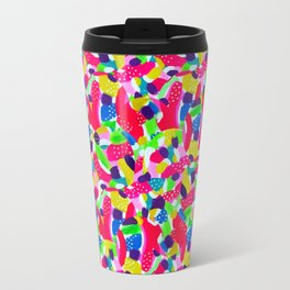 Colourful Abstract Travel Mug