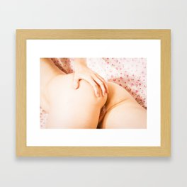 Julie Darling 0836 - Nude Nue Erotica surEXposed Framed Art Print