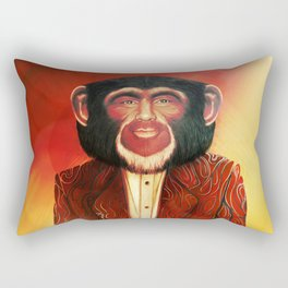 Joe Rogan Rectangular Pillow
