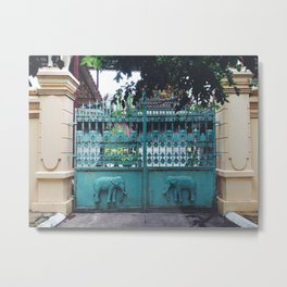 elephant gates Metal Print
