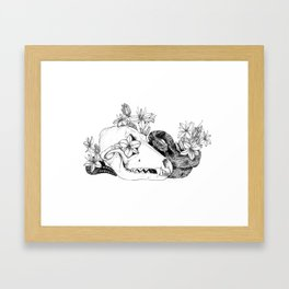 My Regrets Follow You to the Grave Framed Art Print