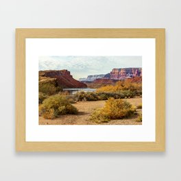 Lee's Ferry, Arizona Framed Art Print