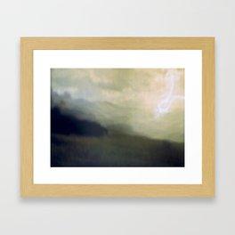 light storm Framed Art Print